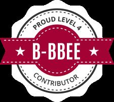 B-BBEE Level 4 Contributor